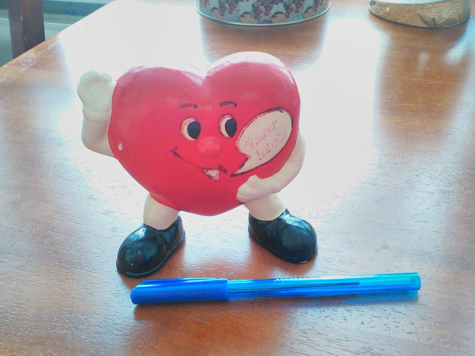Soška v tvare srdca - Obrázok č. 1