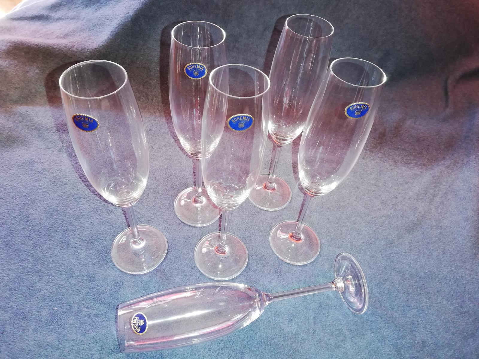 Poháre na šampanské Bohemia - Obrázok č. 1