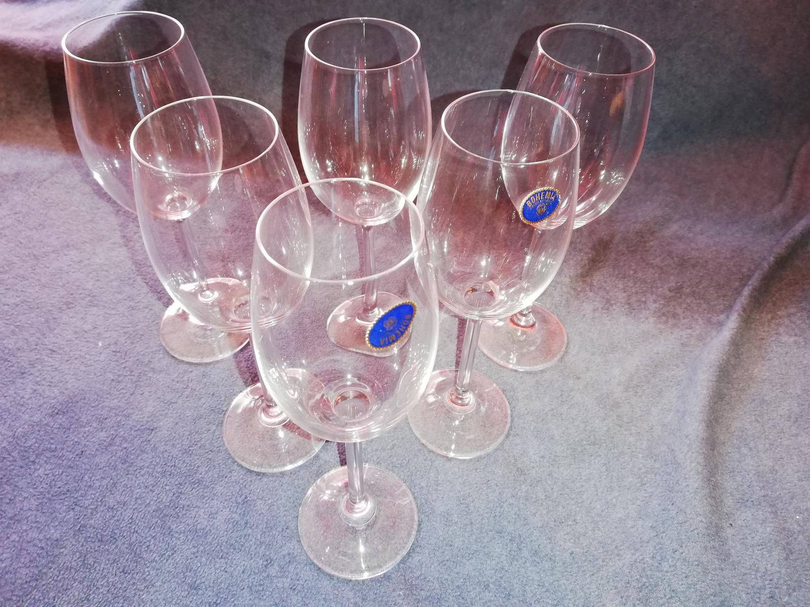 Poháre na víno Bohemia - Obrázok č. 1