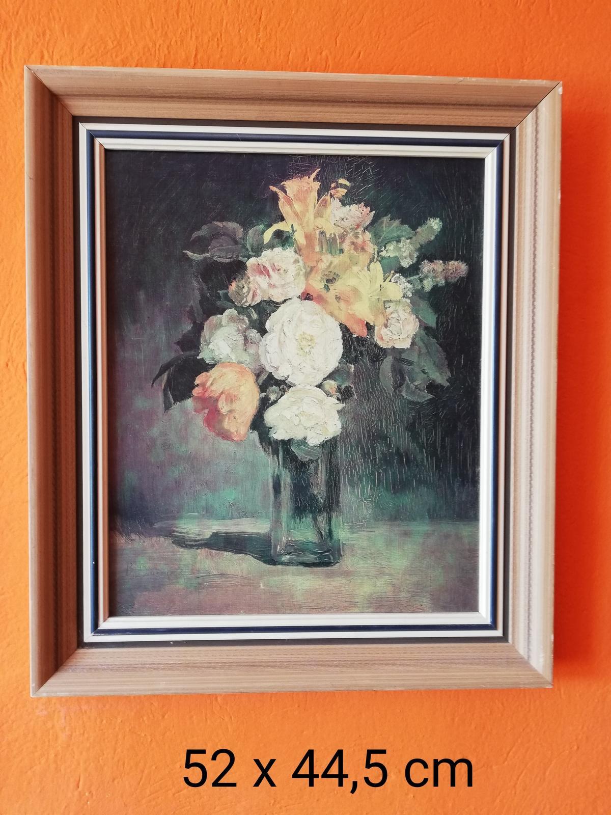 Obraz váza s kvetmi - Obrázok č. 1