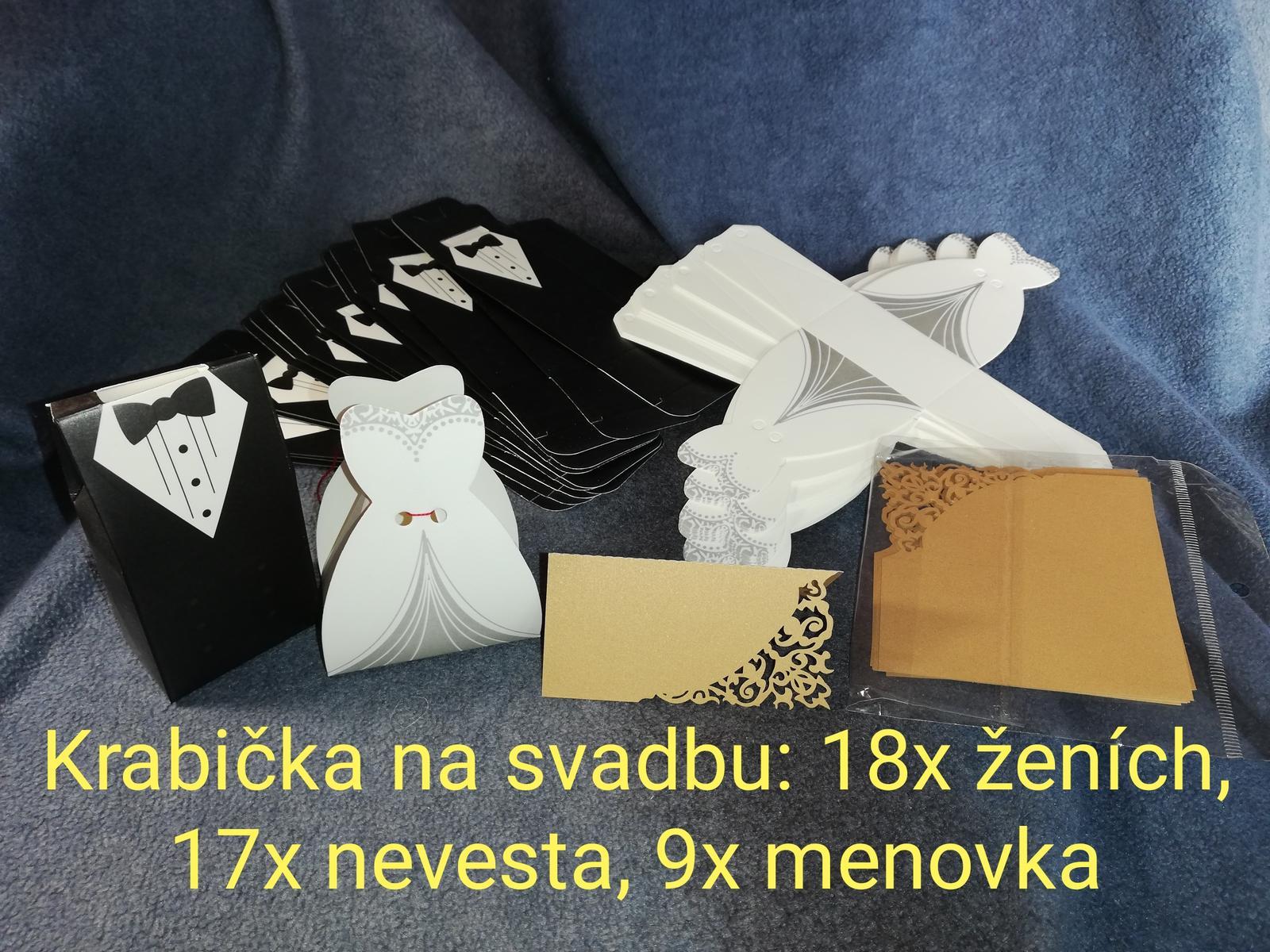 Krabičky na darčeky - Obrázok č. 1