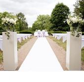 Svatební koberec - běhoun,
