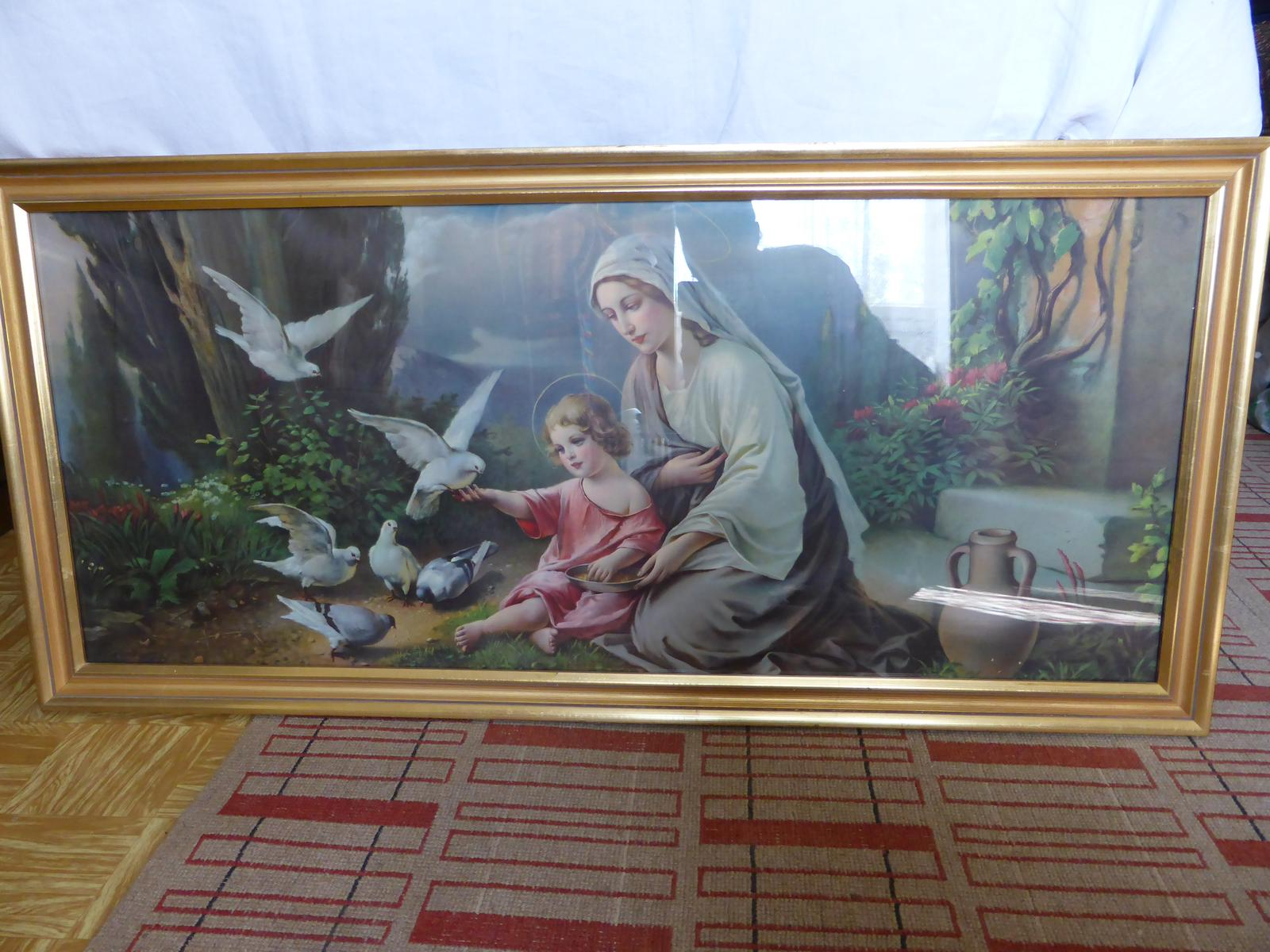 Svätý obraz 127x60cm - Obrázok č. 1