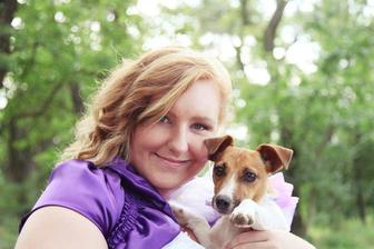s naší psí slečnou Miou..naše malý bejby :o)