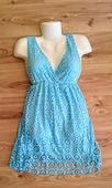 jemné čipkované šaty, 38