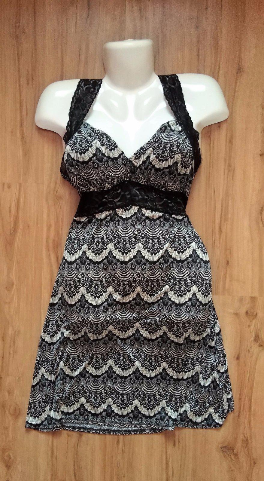 šaty s čipkovanými ramienkami - Obrázok č. 1