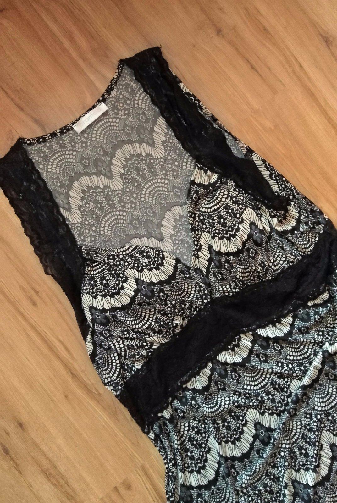 šaty s čipkovanými ramienkami - Obrázok č. 2