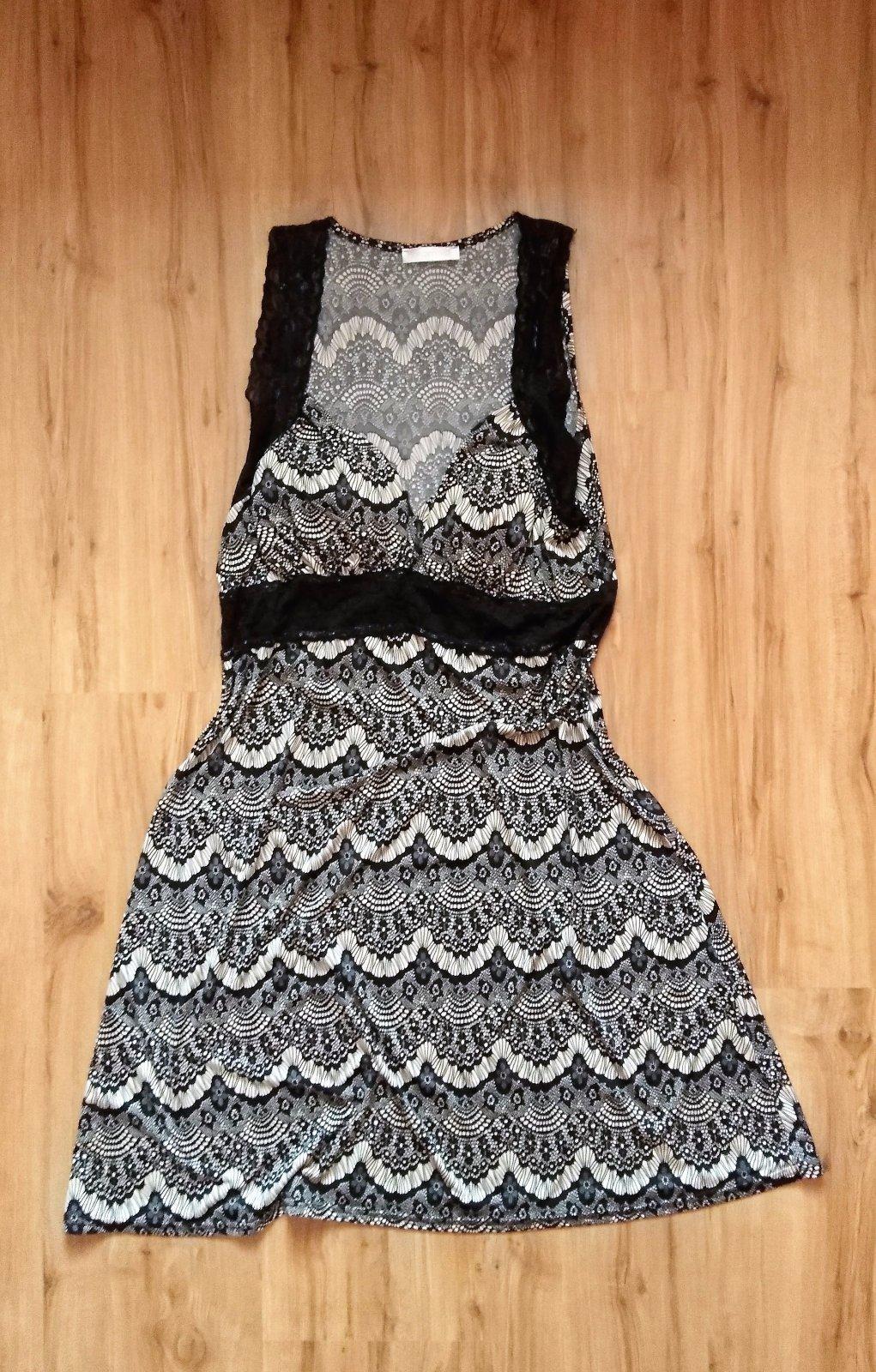 šaty s čipkovanými ramienkami - Obrázok č. 3