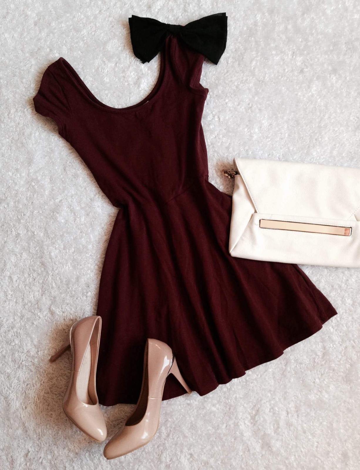 šaty s mašličkou, zn.H&M - Obrázok č. 1