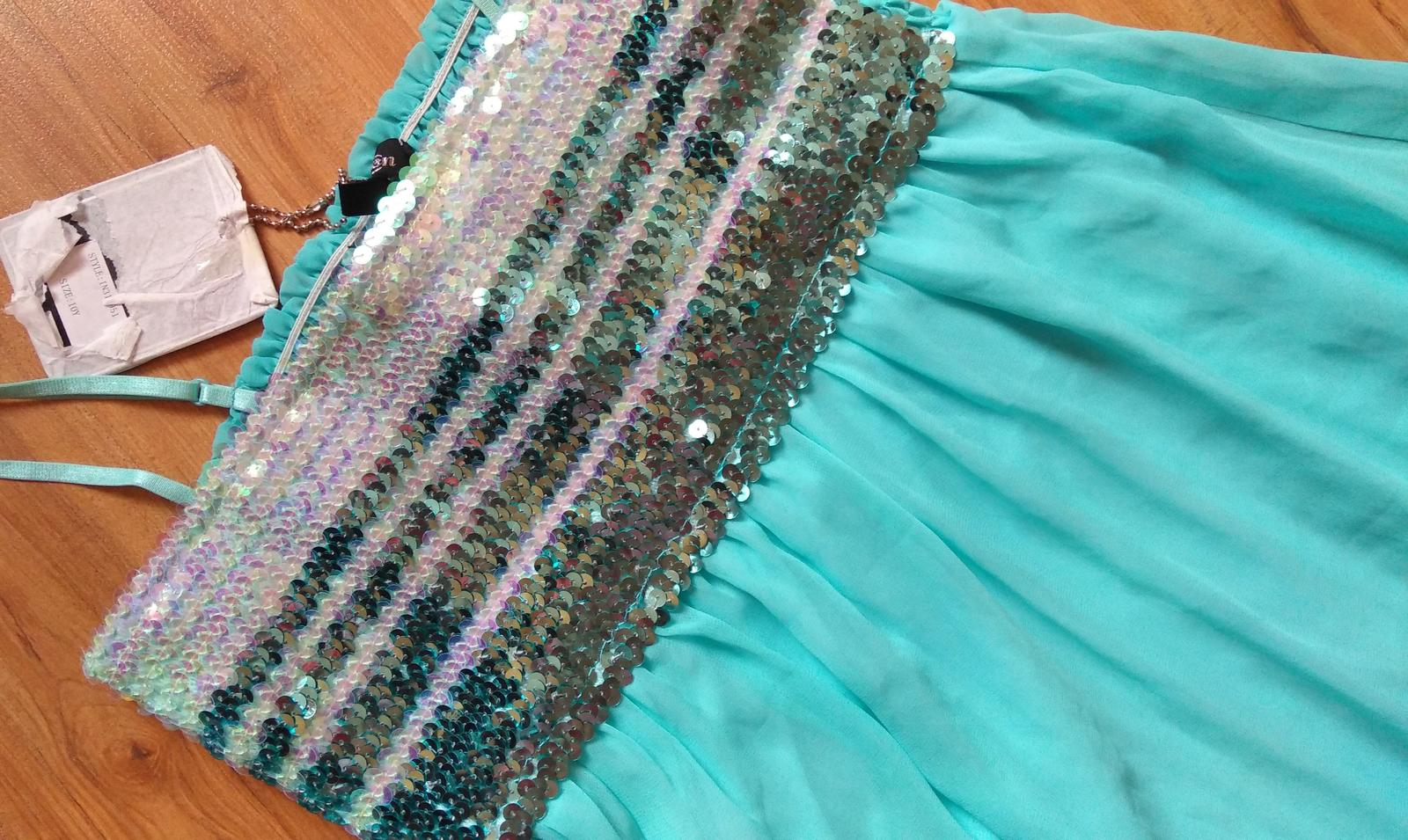 šaty s flitrami - Obrázok č. 2