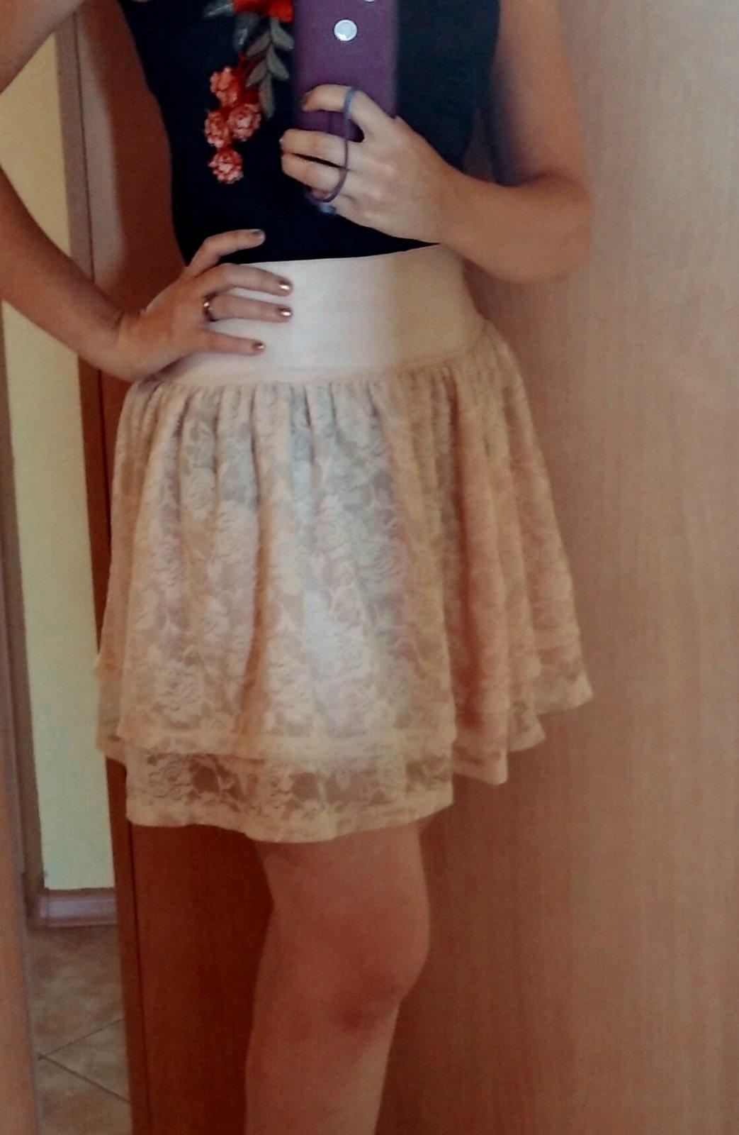 čipkovaná sukňa - Obrázok č. 1