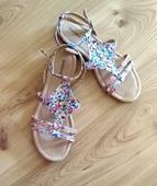 sandálky s kamienkami, 39