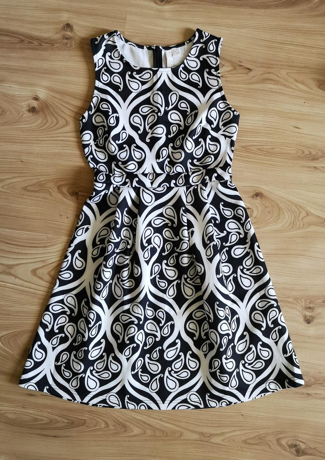 šaty s ornamentovou potlačou - Obrázok č. 1