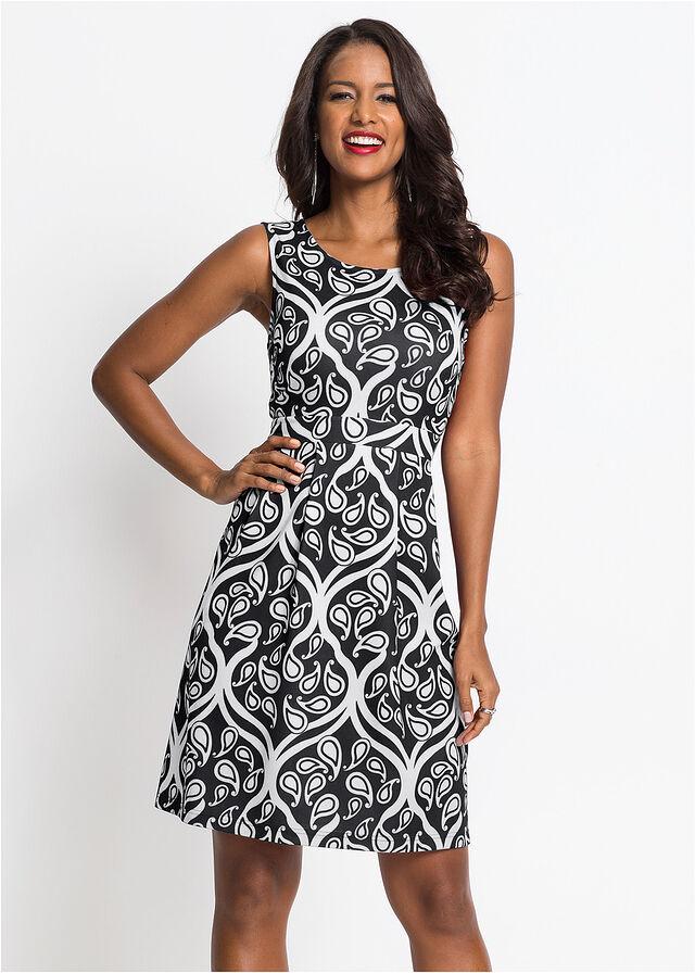 šaty s ornamentovou potlačou - Obrázok č. 4