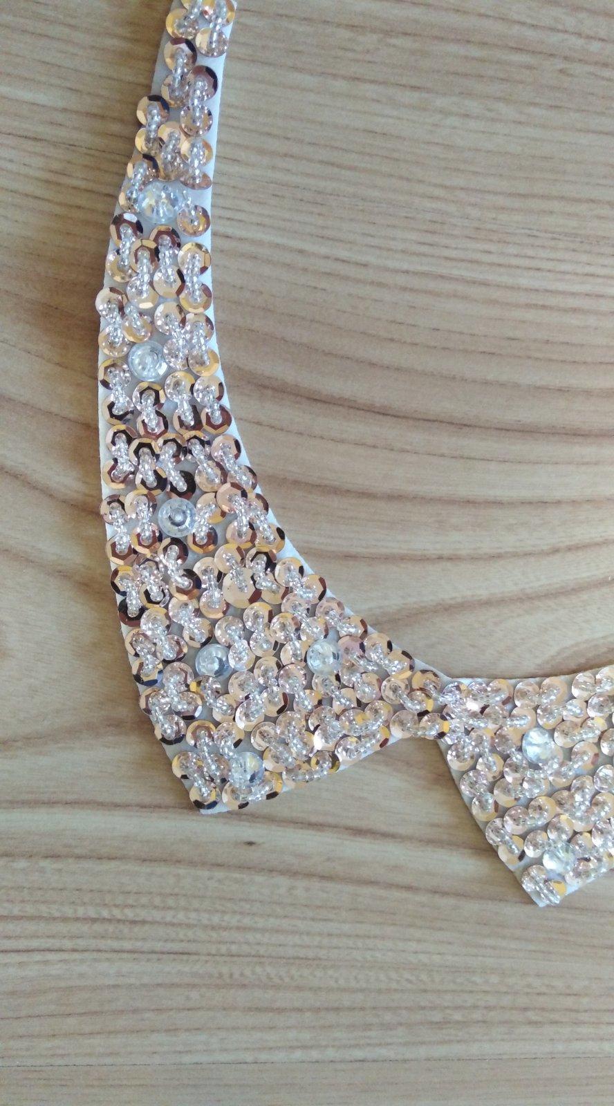 perlový náhrdelník na viazanie - Obrázok č. 2