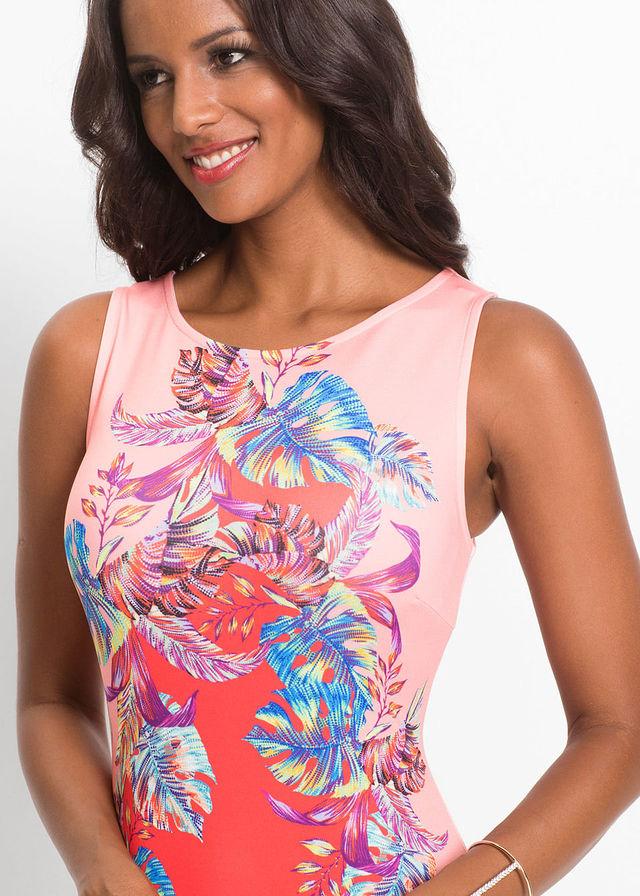 pestrofarebné puzdrové šaty - Obrázok č. 4