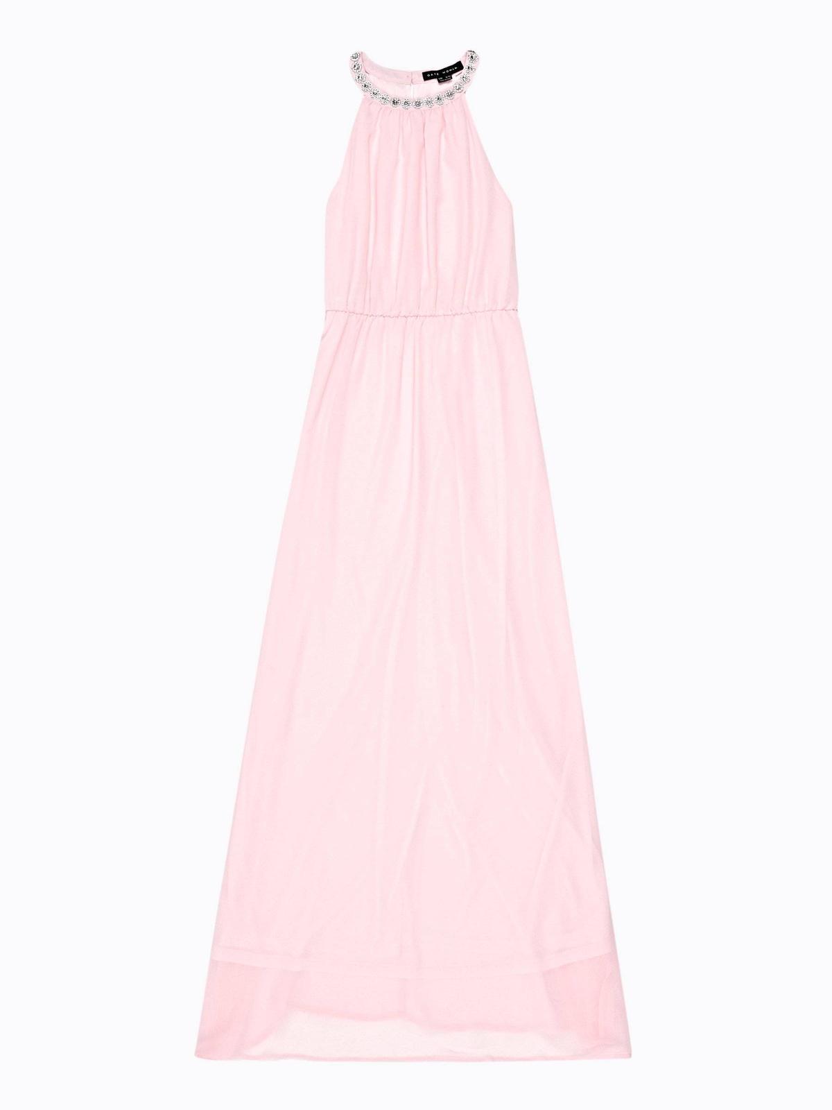 šifónové šaty s kamienkami - Obrázok č. 1