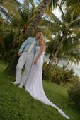 Pánske biele oblekové nohavice, 48