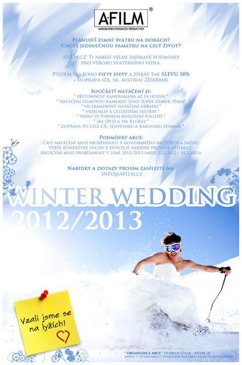 afilmcz - Plánuješ svatbu na horách? Mám pro Tebe zajímavou nabídku!