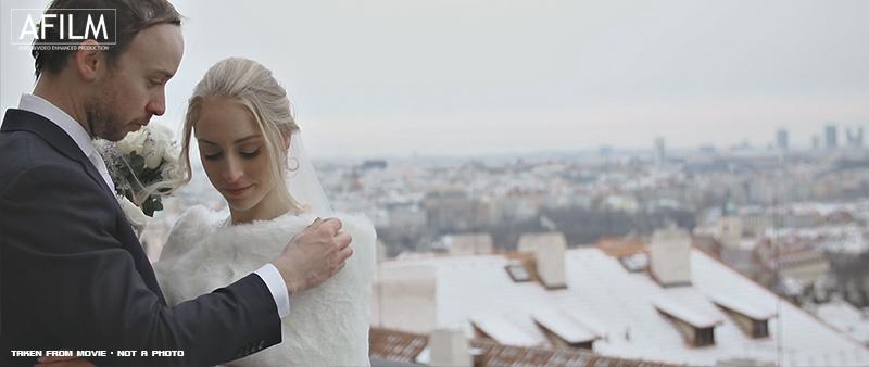 Zimní svatba v Praze - Obrázek č. 2