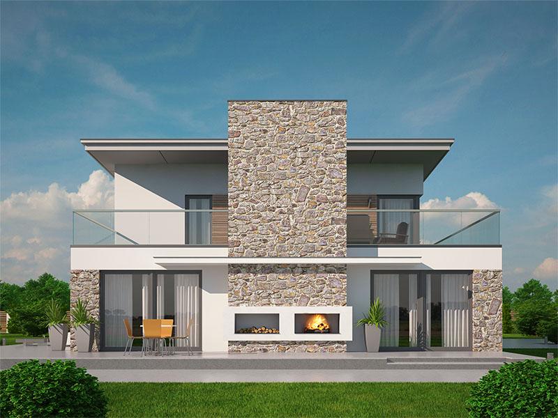Můj dům snů - ale až v příštím životě :-D - tenhle pohled mě dostal :-)