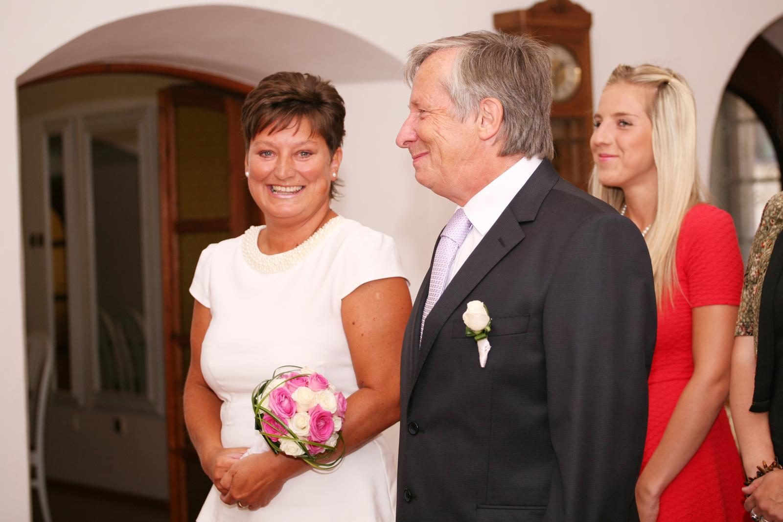 Dnes se oženil můj taťka :-) - Obrázek č. 6