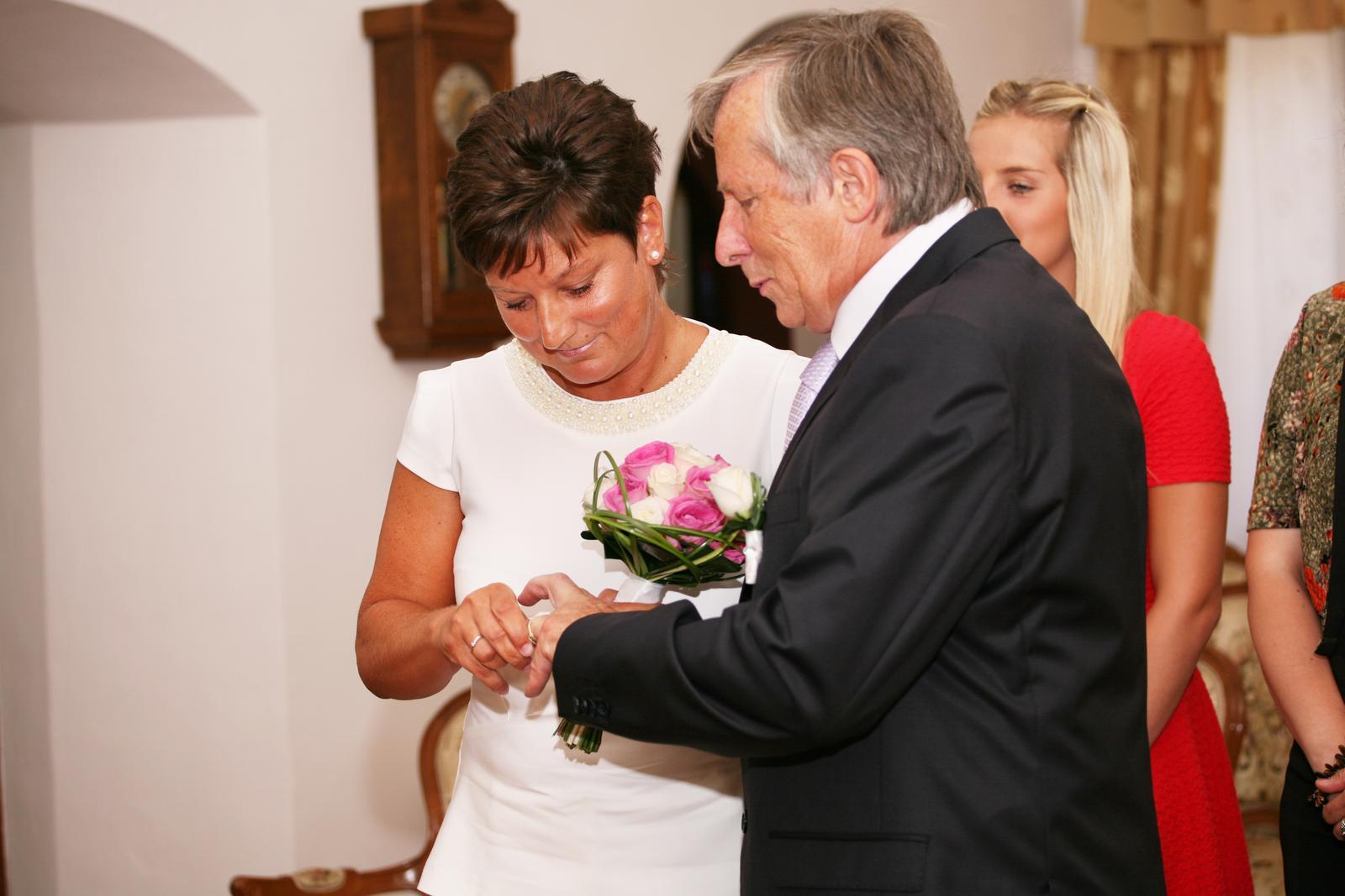 Dnes se oženil můj taťka :-) - Obrázek č. 7