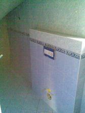 wc spodné / obklad vyberal manžel