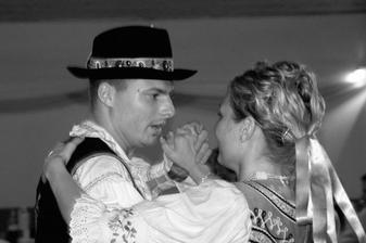 ... konečne tancujem s miláčikom :)