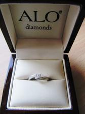 Zásnubný prstienok, ktorým ma môj drahý prekvapil 24.októbra 2012