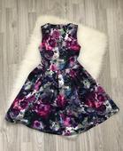 Spoločenské kvetované šaty značky F&F, 36