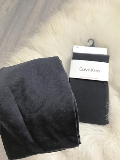 Šedé pančuchy značky Calvin Klein - Obrázok č. 1