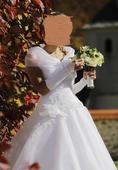 korzetové svadobné šaty , 38