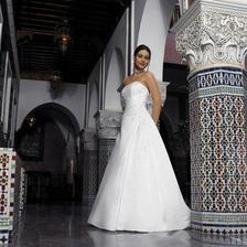 Krásné šaty pro nevěstu, takové by se mi líbily