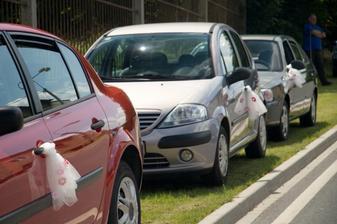 Nablýskaná autíčka