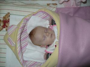 Náš poklad Natálka - narozena 5.9.2009