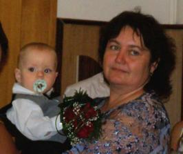 babička s naším synem