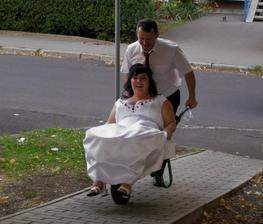 svatební dar v akci