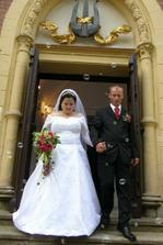 První kroky jako novomanželé Patolánovi