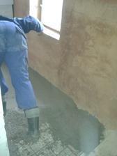 betonaž špajzky