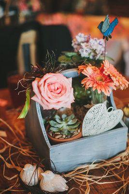Aqua and coral palette - wedding - Obrázek č. 15