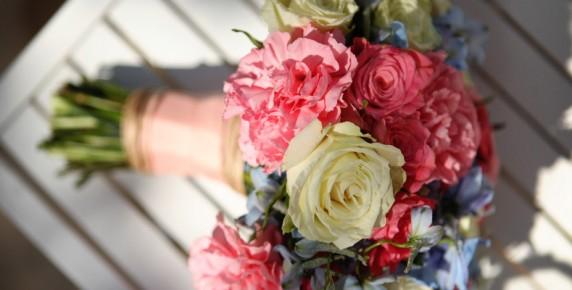 Aqua and coral palette - wedding - Obrázek č. 19
