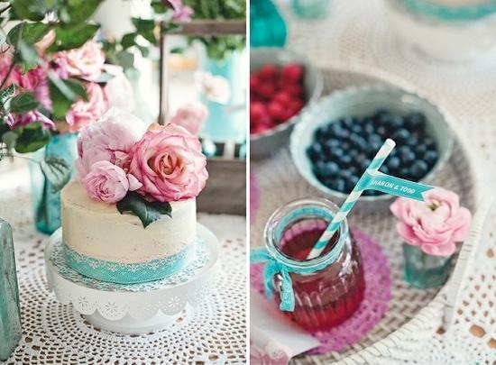 Aqua and coral palette - wedding - Obrázek č. 25