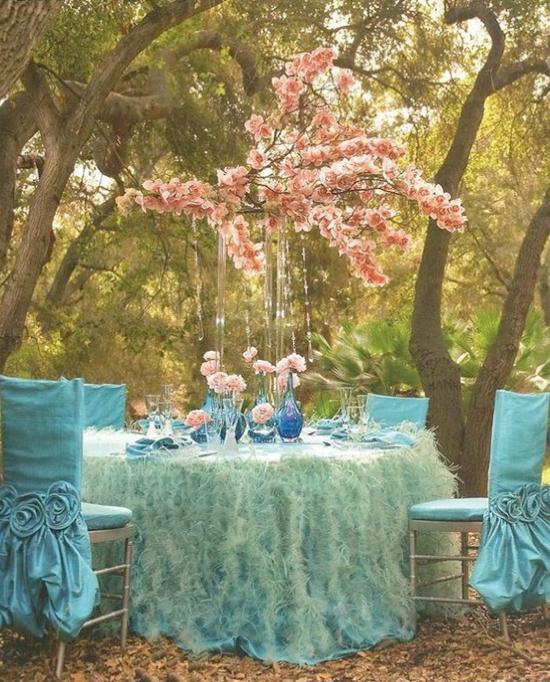 Aqua and coral palette - wedding - Obrázek č. 27