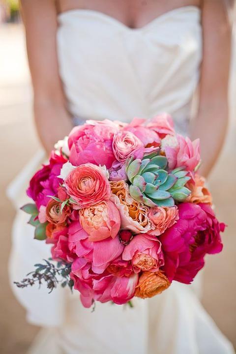 Aqua and coral palette - wedding - Obrázek č. 29