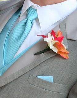 Aqua and coral palette - wedding - Obrázek č. 30
