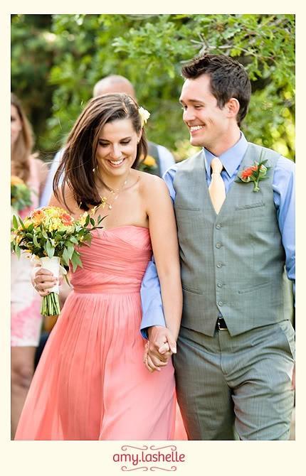 Aqua and coral palette - wedding - Obrázek č. 37