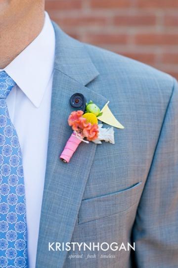 Aqua and coral palette - wedding - Obrázek č. 39