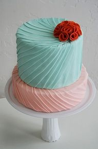 Aqua and coral palette - wedding - Obrázek č. 7
