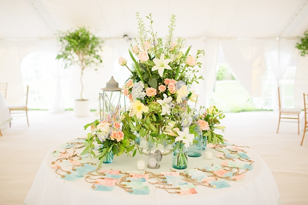 Aqua and coral palette - wedding - Obrázek č. 41